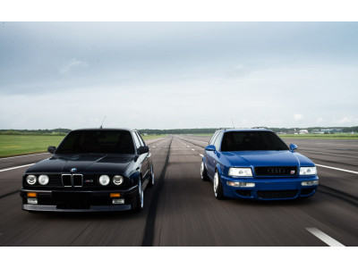 90er Legenden: BMW E30 M3 oder Audi RS2?