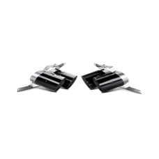 Endrohr Set - Carbon Matt